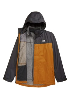The North Face Gordon Lyons TriClimate® Waterproof Hooded 3-in-1 Snowsports Jacket (Big Boys)
