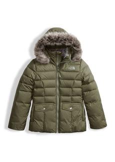 The North Face Gotham 2.0 Down Hooded Jacket w/ Faux-Fur Trim