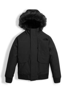 Gotham Down Hooded Jacket w  Faux-Fur Trim. The North Face. Gotham Down ... 6f136fb69