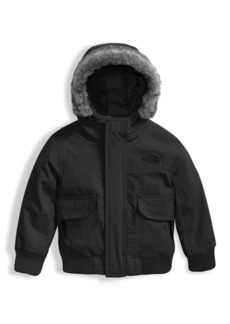 The North Face Gotham Down Hooded Jacket w/ Faux-Fur Trim