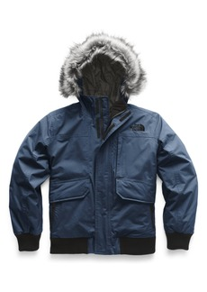 The North Face Gotham Hooded 550 Fill Power Down Jacket (Big Boys)