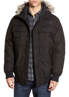 The North Face 'Gotham II' Hooded Goose Down Jacket with Faux Fur Trim
