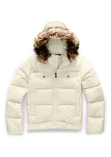 The North Face Gotham Water Resistant 550 Fill Power Down Jacket with Faux Fur Trim (Big Girls)