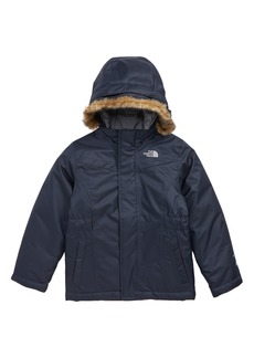 The North Face Greenland Waterproof 550-Fill-Power Down Jacket with Faux Fur Trim (Toddler Girls & Little Girls)