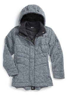 The North Face Indi 2 Hooded Knit Parka (Big Girls)