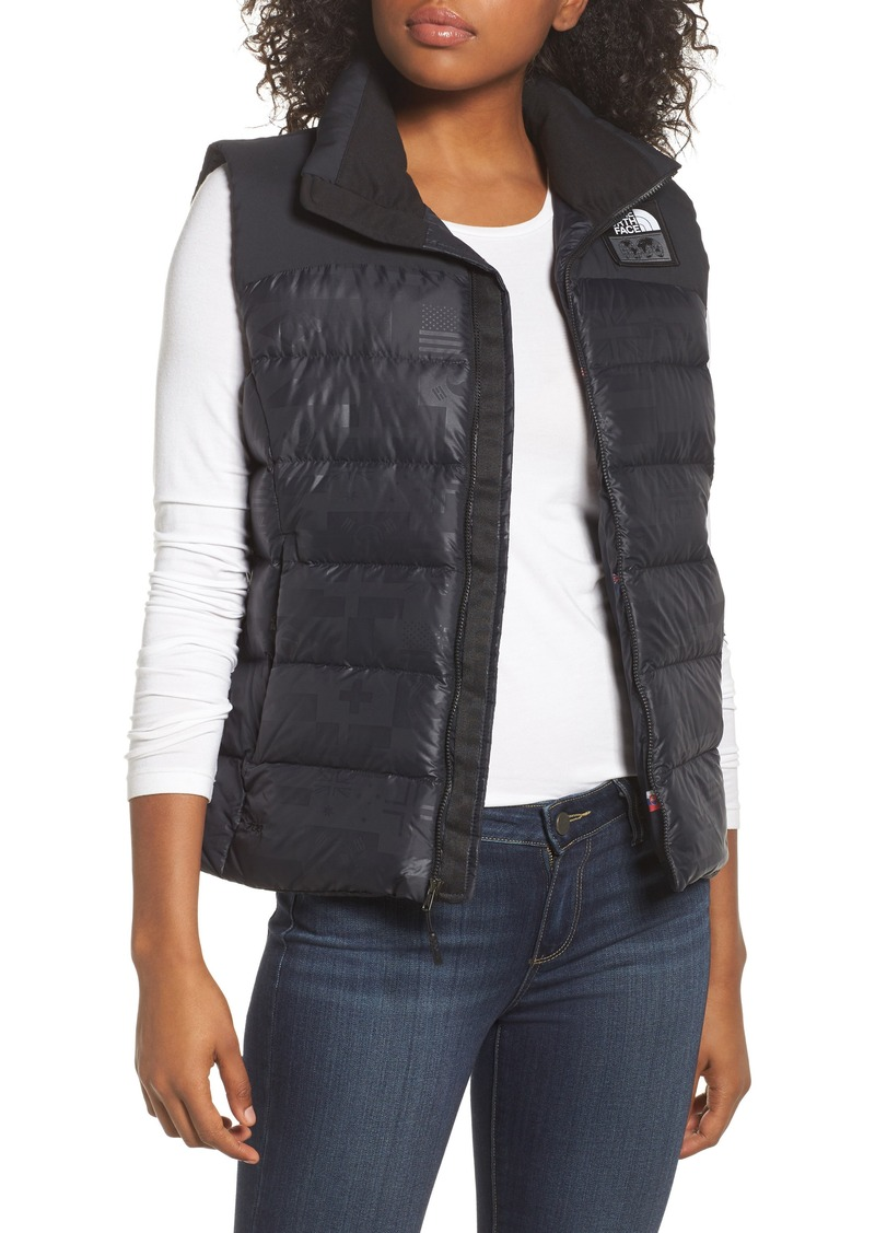 The North Face International Collection Nuptse 700-Fill Power Down Puffer  Vest 58f03e29a