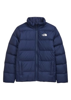 The North Face Kids' Andes Reversible Water Repellent 550 Fill Power Down Jacket (Big Boy)