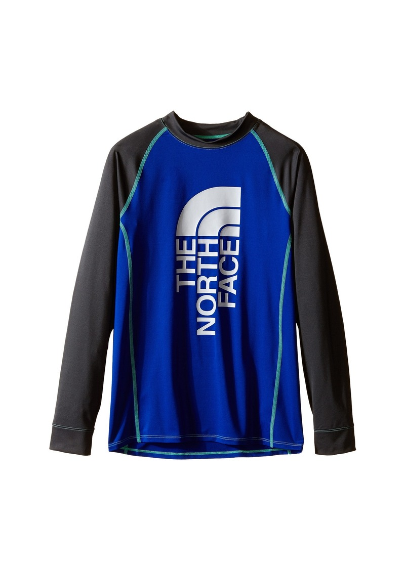 The North Face Kids Dog Patch Long Sleeve Rashguard (Little Kids/Big Kids)