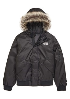 The North Face Kids' Gotham Waterproof 550 Fill Power Down Jacket with Faux Fur Trim (Big Boy)