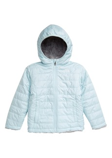 The North Face Kids' Mossbud Swirl Reversible Water Repellent Heatseeker™ Jacket (Toddler Girls & Little Girls)