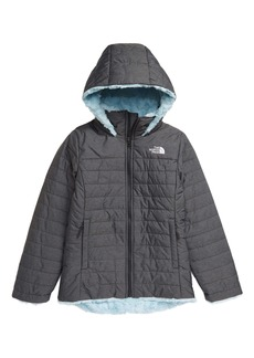 The North Face Kids' Mossbud Swirl Reversible Water Repellent Hooded Jacket (Big Girl)