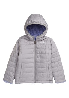The North Face Kids' Mossbud Swirl Reversible Water Repellent Hooded Jacket (Toddler & Little Girl)