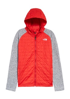 The North Face Kids' Quilted Sweater Fleece Hoodie (Big Boy)