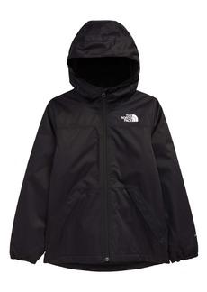 The North Face Kids' Warm Storm Waterproof Hooded Rain Jacket (Big Girl)