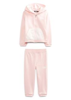 The North Face Kids' Zip Hoodie & Sweatpants Set (Toddler & Little Girl)