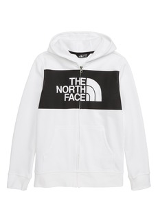 The North Face Logowear Full Zip Hoodie (Big Boys)