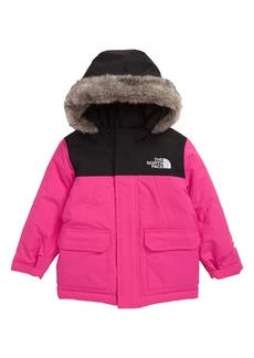 The North Face McMurdo Waterproof 550 Fill Power Down Parka with Faux Fur Trim (Toddler Girls & Little Girls)