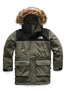 The North Face McMurdo Waterproof 550 Fill Power Down Parka with Faux Fur Trim (Big Boys)