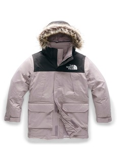 The North Face McMurdo Waterproof 550 Fill Power Down Parka with Faux Fur Trim (Big Girls)