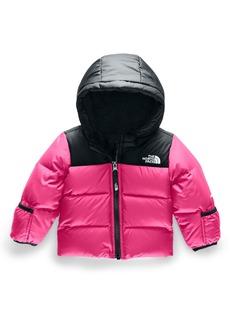 The North Face Moondoggy Water Repellent 550 Fill Power Down Jacket (Baby)