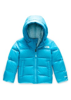 The North Face Moondoggy Water Repellent 550 Fill Power Down Jacket (Toddler Girls & Little Girls)