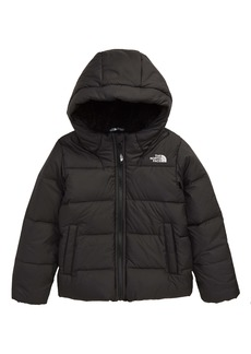 The North Face Moondoggy Water Repellent Down Hooded Jacket (Toddler Boys)