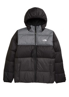 The North Face Moondoggy Water Repellent Reversible Down Jacket (Big Boys)