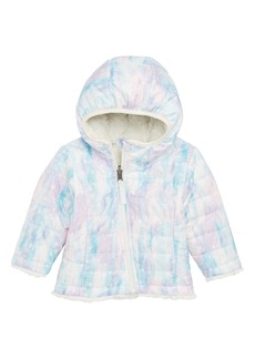 The North Face Mossbud Swirl Reversible Water Repellent Heatseeker™ Insulated Jacket (Baby Girls)