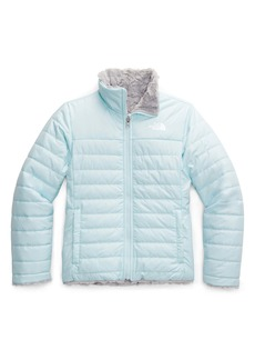 The North Face Kids' Mossbud Swirl Reversible Water Repellent Heatseeker™ Jacket (Big Girls)