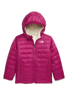 The North Face Mossbud Swirl Reversible Water Repellent Hooded Jacket (Toddler)