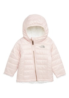The North Face Mossbud Swirl Reversible Water Repellent Jacket (Baby Girls)