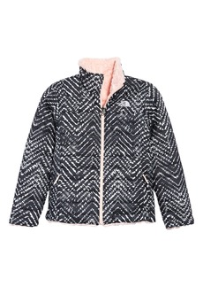 The North Face Kids' Mossbud Swirl Reversible Water Repellent Jacket (Big Girl)