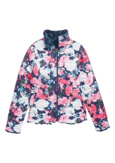 The North Face Mossbud Swirl Reversible Water Repellent Jacket (Big Girls)