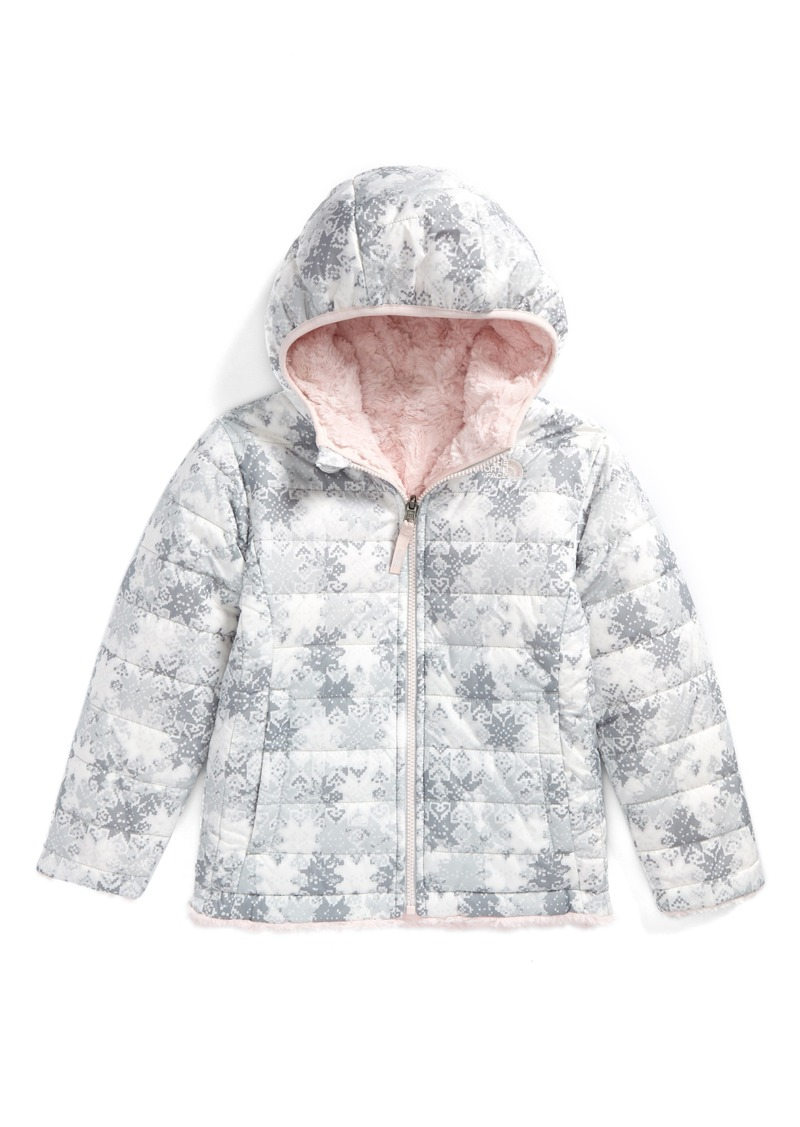 a22828caa6 The North Face Mossbud Swirl Reversible Water Repellent Jacket (Toddler  Girls   Little Girls)
