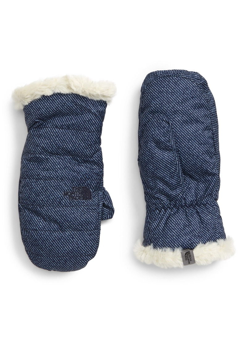 The North Face Mossbud Swirl Reversible Water Resistant Heatseeker™ Insulated Mittens (Kids)
