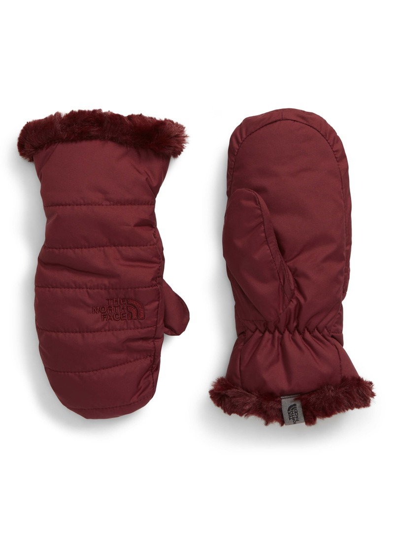 The North Face Mossbud Swirl Reversible Water Resistant Mittens (Kids)