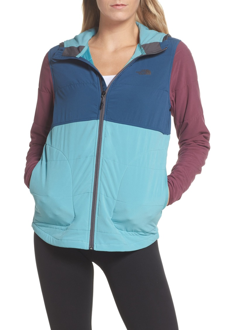 004b5ea269b3 ... promo code the north face mountain sweatshirt insulated hooded jacket  de8a1 2b172