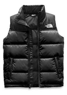 The North Face Nuptse Packable Quilted Down Vest (Big Boys)