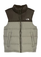 The North Face Nuptse Water Repellent Down Vest