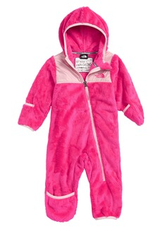 The North Face Oso Hooded Fleece Romper (Baby)