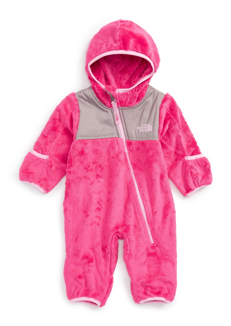The North Face The North Face  Oso  Hooded Fleece Romper (Baby Girls) ddbdc4fb5