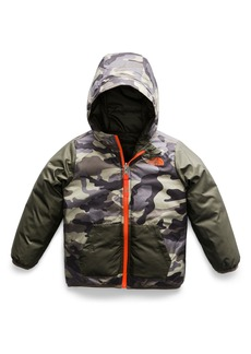 The North Face Perrito Reversible Water Repellent Hooded Jacket (Toddler Boys & Little Boys)