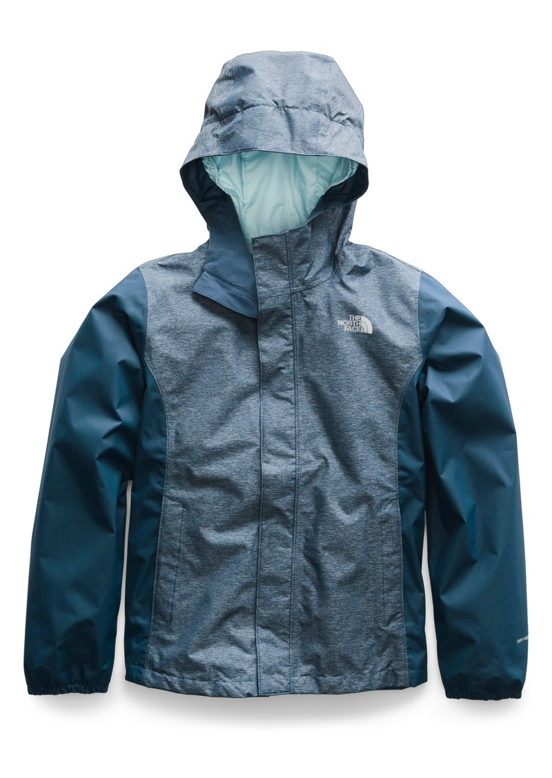 Resolve Reflective Waterproof Hooded Jacket (Big Girls). The North Face 82247aaf6