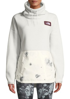 The North Face Riit Fleece Cowl-Neck Pullover Sweater
