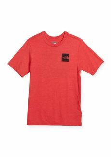 The North Face Short-Sleeve Tri-Blend Logo T-Shirt