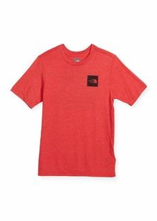 The North Face Short-Sleeve Tri-Blend Logo T-Shirt