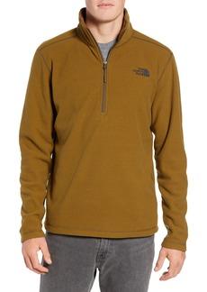 The North Face Texture Cap Rock Quarter Zip Fleece Jacket