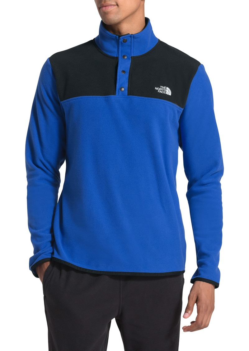 The North Face TKA Glacier Snap Neck Pullover