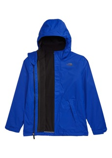 The North Face Vortex TriClimate® Water Resistant & Wind Resistant Hooded Jacket (Big Boy)