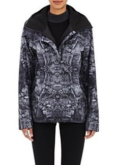 The North Face Women's Abstract-Print Tech-Fabric Hooded Rain Shell